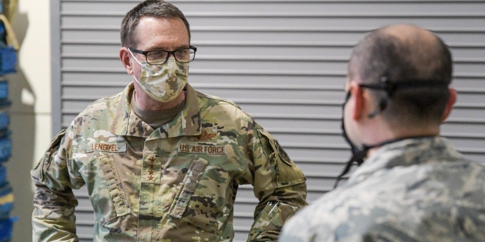 National Guard's top general tests negative for COVID-19