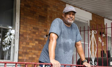 An Air Force veteran in recovery is using his home to help struggling vets find peace and sanctuary