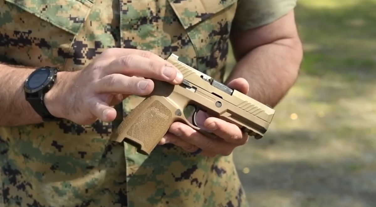 The Marine Corps has officially started fielding its first new pistol in 35 years