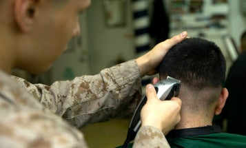 The Marine Corps is keeping barber shops open amid the COVID-19 pandemic, defying common sense