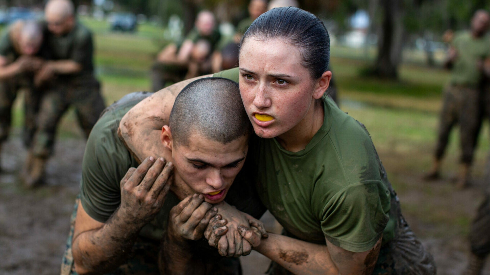 Female Marine recruits will train at Recruit Depot San Diego for the first time ever starting next year