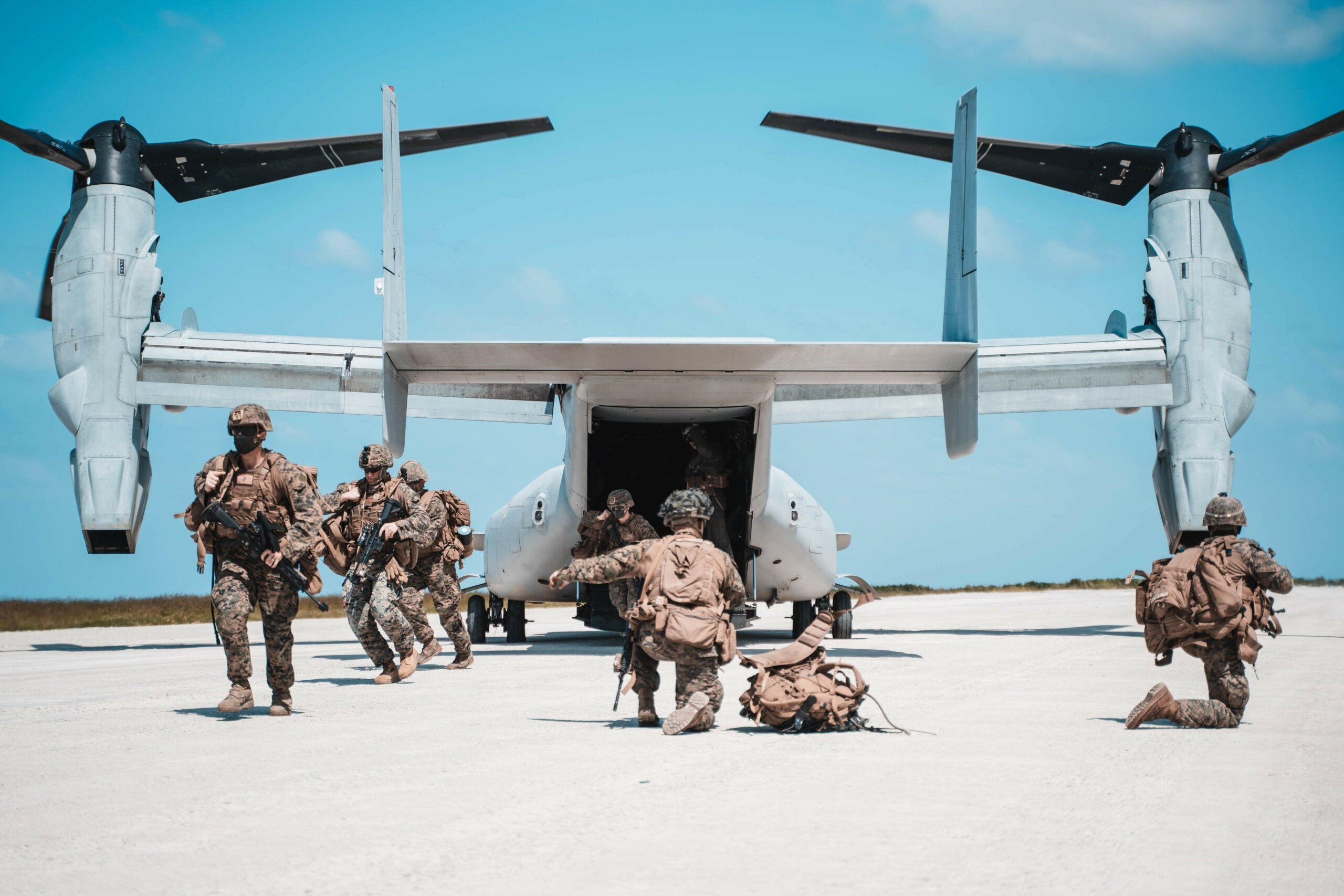 Marine Corps participate in island-hopping exercise Noble Fury