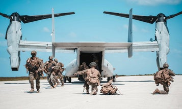Marines are practicing island-hopping ahead of a future war with China