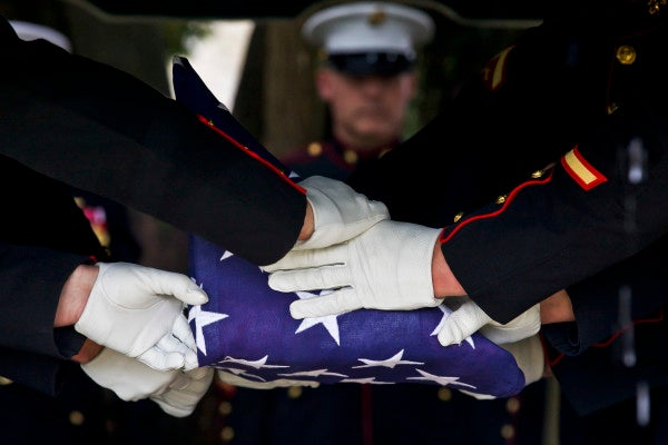 Remains of missing WWII Marine identified