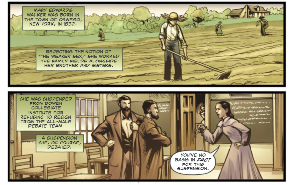 New graphic novel celebrates the only woman to receive the Medal of Honor