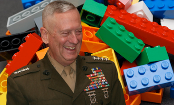 A brick too far: How General Mattis used Legos to plan out the invasion of Iraq