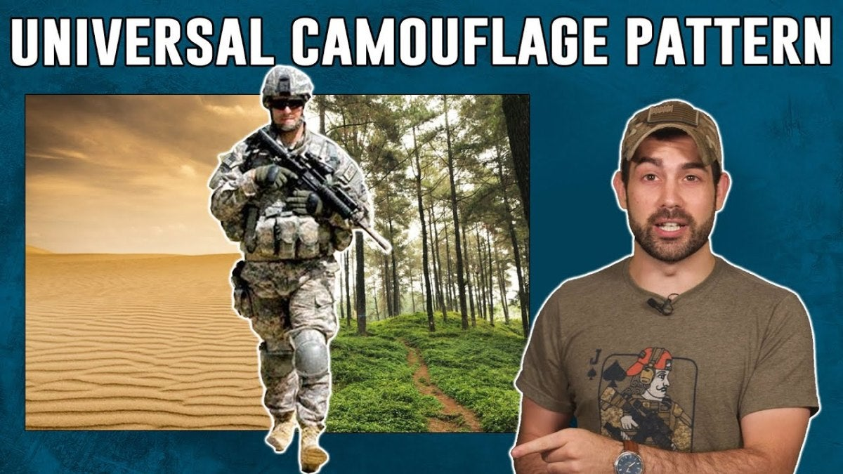 Universal camouflage pattern program legacy