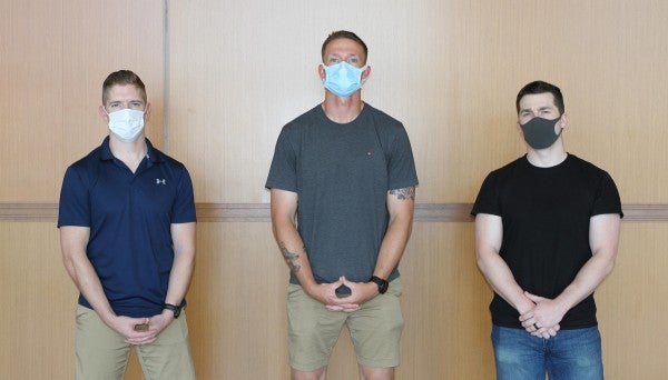 3 Marine grunts literally stacked up on a bathroom door to pull out a 'hostile' passenger on an international flight