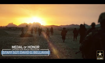 Medal of Honor recipient, Staff Sergeant David G. Bellavia, speaks about his service, and the relationship to Army Values.