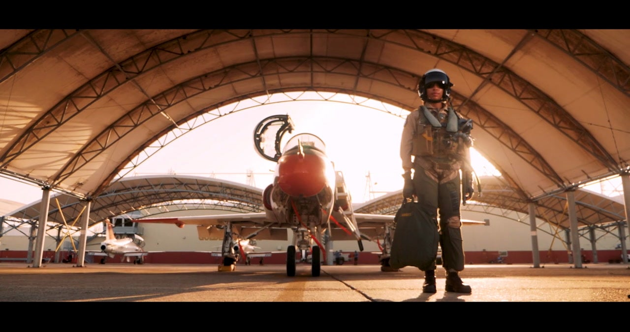 Meet the Navy's first Black female tactical jet pilot