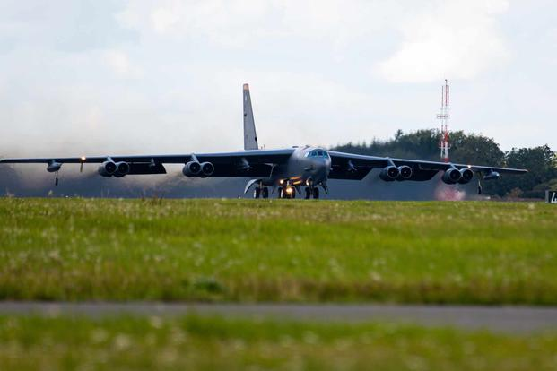 Air Force B-52s participate in Bomber Task Force in Ukraine