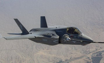 Marine Corps F-35 crashes after colliding with C-130 during refueling exercise