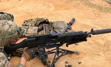 Soldiers are testing a new M240 suppressor that miraculously doesn't suck