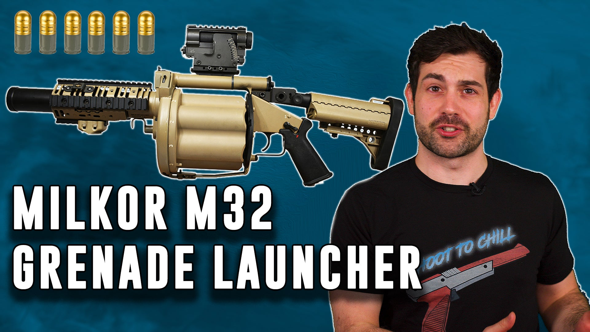 Why Marines need the Milkor MGL M-32 Grenade Launcher