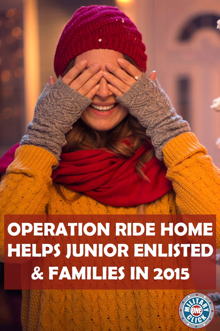 Need help getting home this holiday season? Operation Ride Home offers financial assistance for enlisted active duty military members and their families.