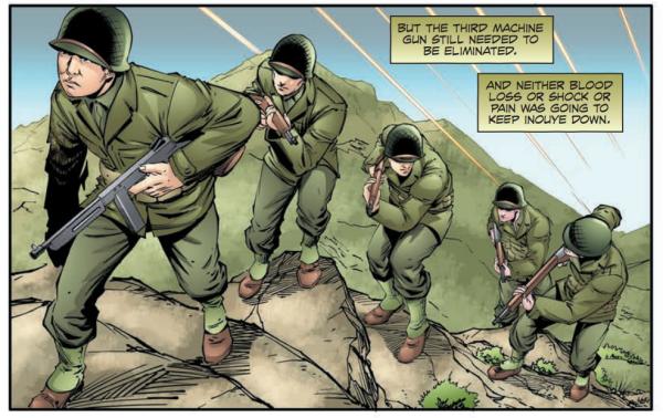 Medal of Honor recipient Daniel Inouye's battlefield heroism gets the graphic novel treatment