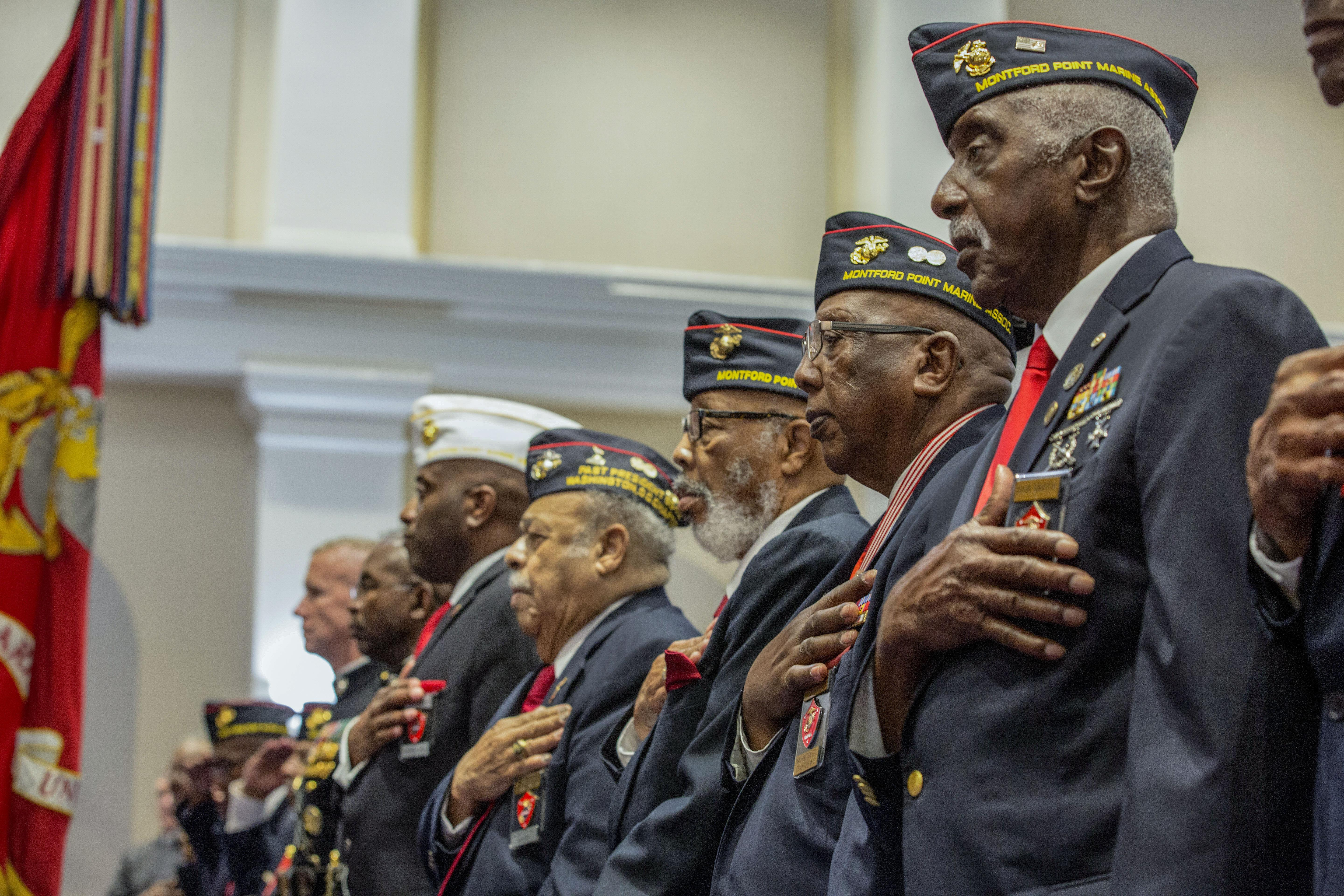 One of the first Black Marines finally gets his Congressional Gold Medal