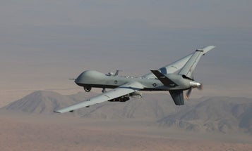 A Marine crew just rocked an MQ-9 Reaper drone downrange for the first time