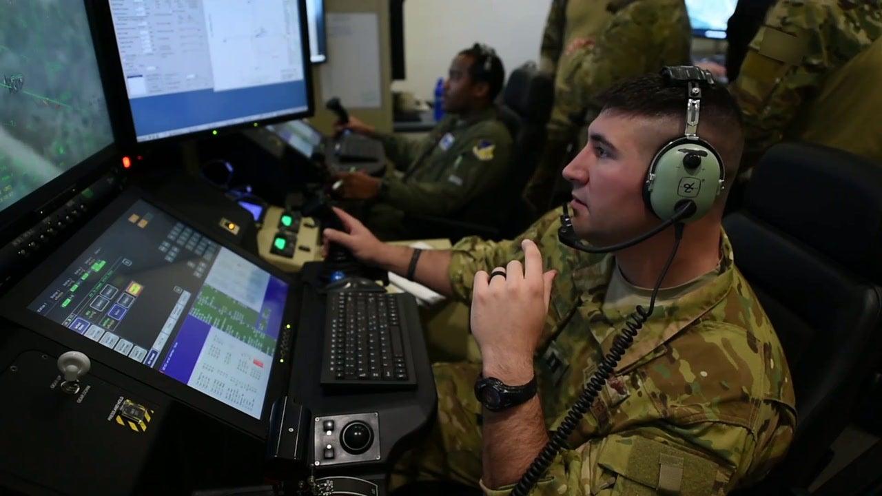 MQ-9 Reaper operations at Holloman Air Force Base