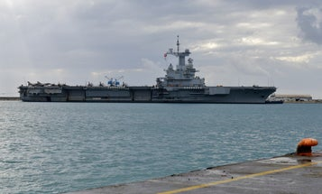 France defends handling of aircraft carrier COVID-19 outbreak after more than 1,000 sailors test positive