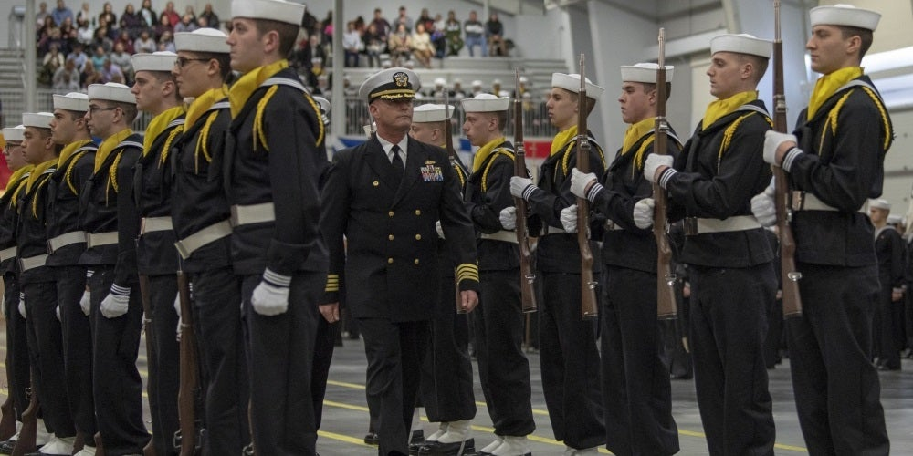 Navy delays new arrivals at boot camp for a week after recruit tests positive for COVID-19