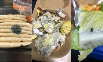 A Navy veteran exposes the insanely gross food served on warships in a viral Facebook post