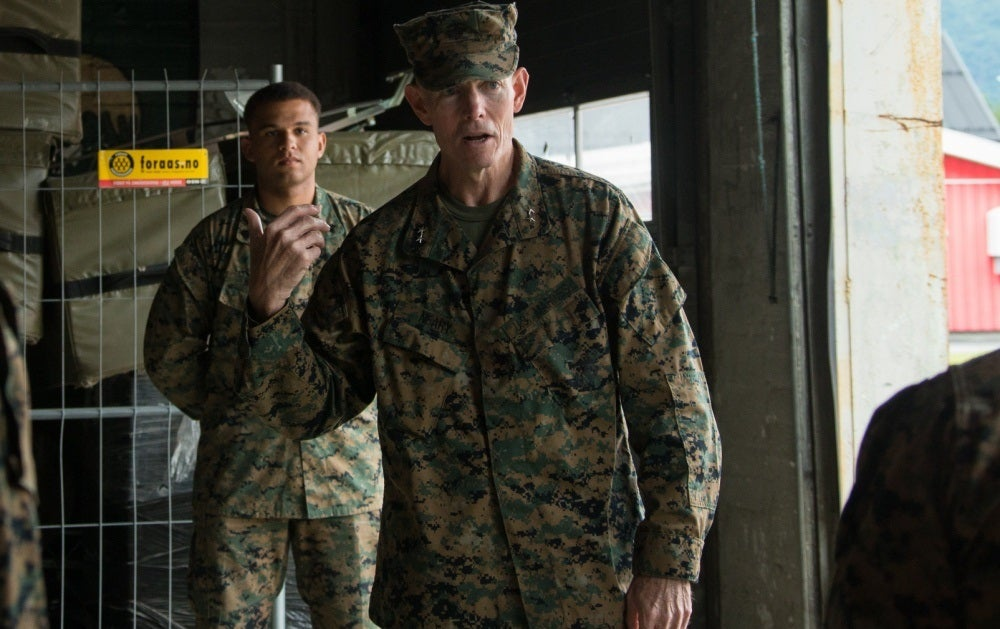 Marine commandant fires two-star general amid investigation into alleged use of a racial slur