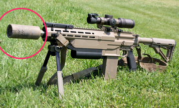 The Army is testing a 'smuzzle' that reduces machine gun noise, flash, and recoil at the same time