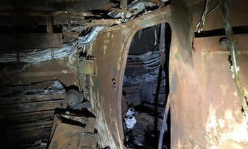 Photos show the damage sustained by the USS Bonhomme Richard during the fire