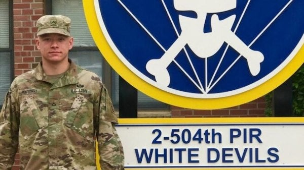 Army paratrooper honored for saving life of shooting victim in North Carolina