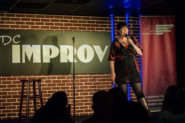 'Comedy saved my life' — Veterans are turning to stand up comedy after the military, with hilarious results