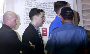 Philippine president pardons US Marine jailed for killing transgender woman