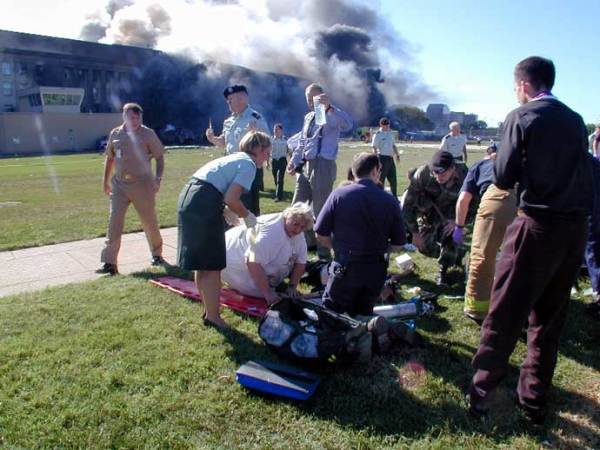 He watched a plane hit the Pentagon on 9/11. Then he braved flames and smoke to save lives