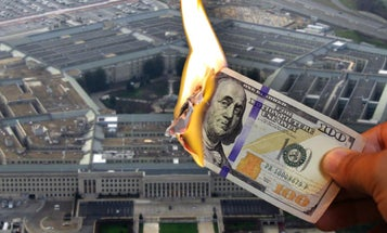 The Pentagon used money for the COVID-19 response as a slush fund for defense contractors