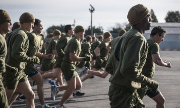 Sorry, Marines: Getting totally drunk may not actually help you max out your PFT scores