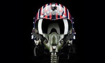 You can now score Tom Cruise's very own 'Maverick' helmet from 'Top Gun'