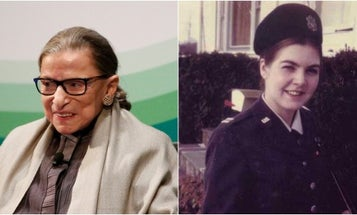 How Ruth Bader Ginsburg and an Air Force officer opened doors for women everywhere