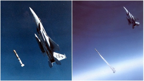 Meet the first and only Air Force pilot to shoot down a satellite