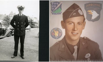 2 D-Day vets, one of whom served with 'Band of Brothers' Easy Company, pass away
