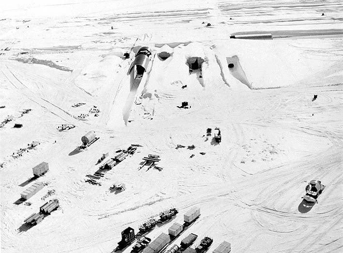Inside America's secret nuke tunnels beneath the ice of Greenland