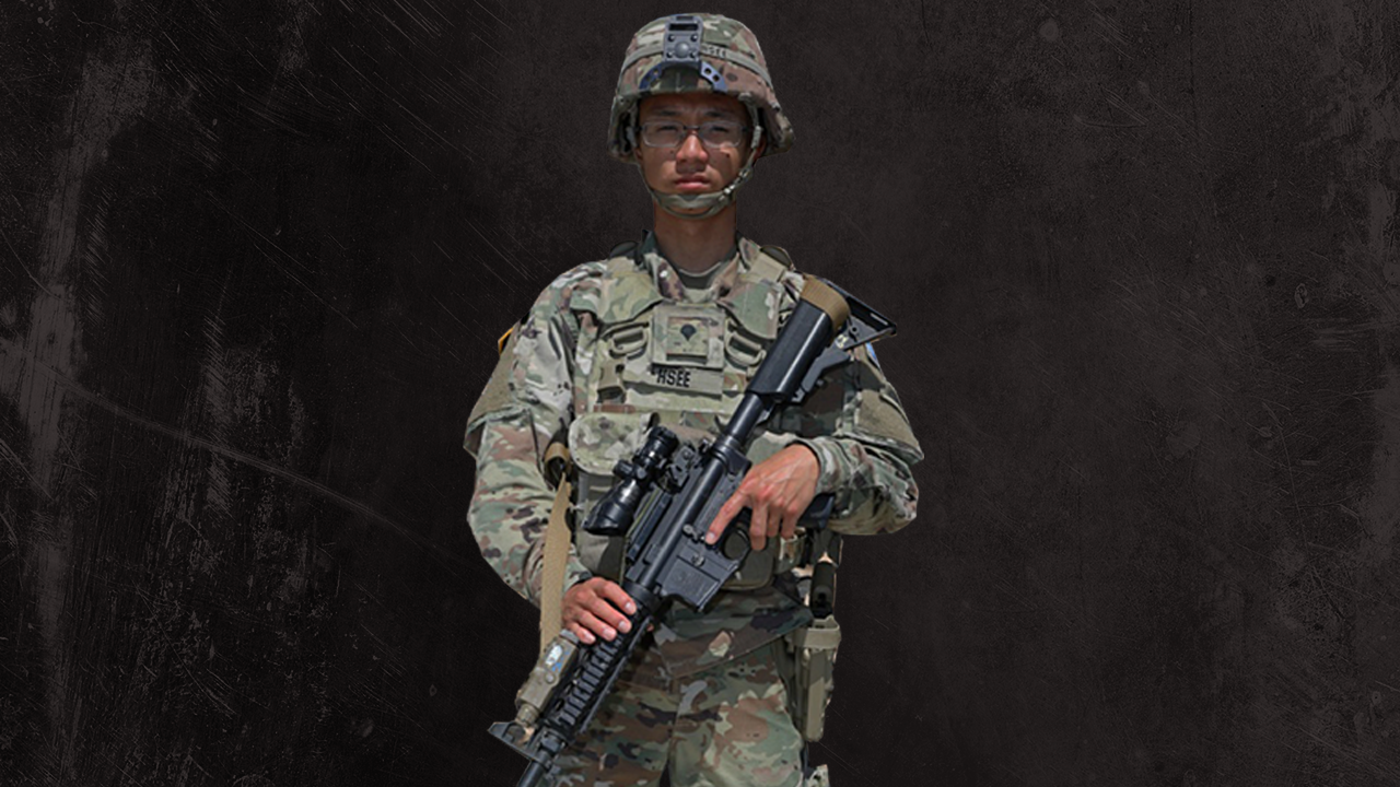 Meet the refugee who escaped civil war and became an American soldier