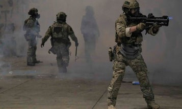 How dressing federal law enforcement agents like US troops undermines democracy