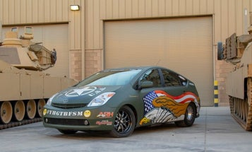How a souped-up Prius made it onto a US Army base in Kuwait