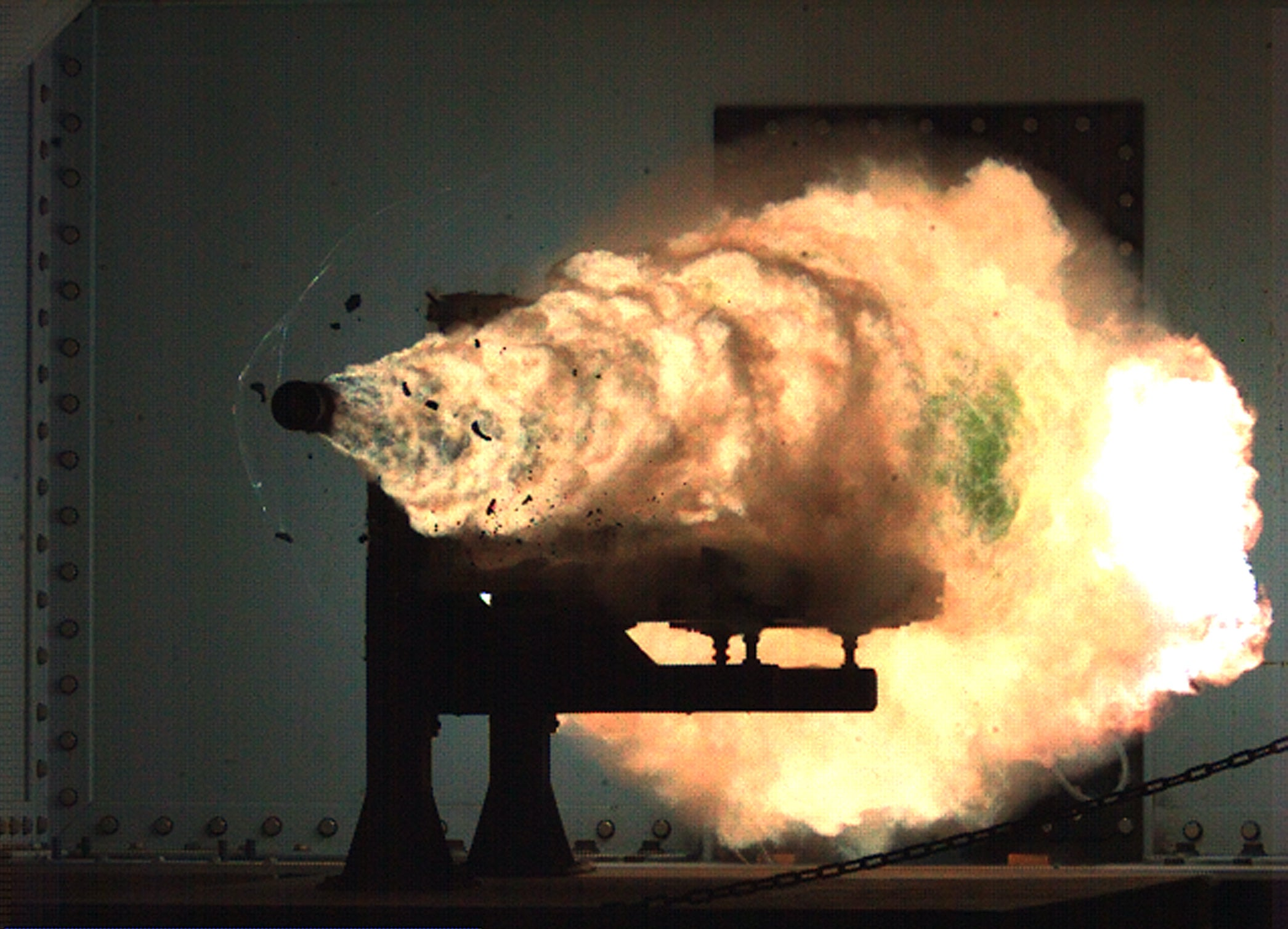 Navy test-fires Hyper Velocity Projectile