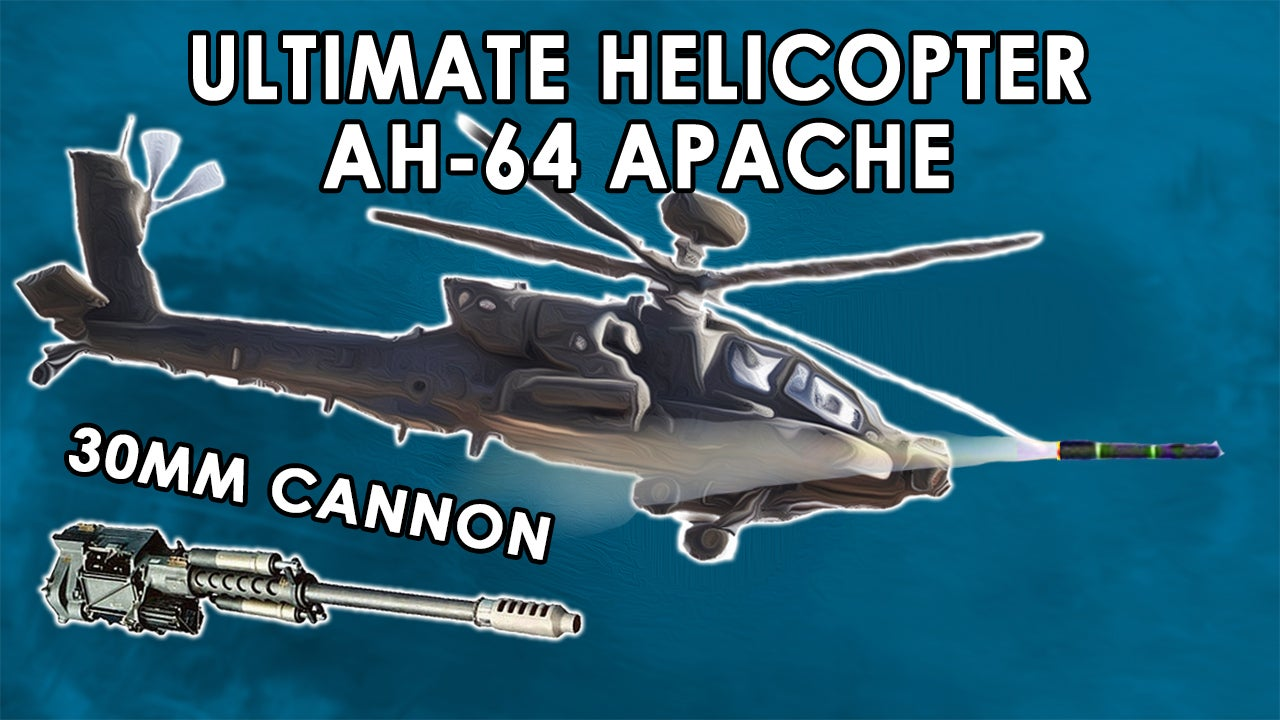 Ultimate attack helicopter the AH-64 Apache owns the sky