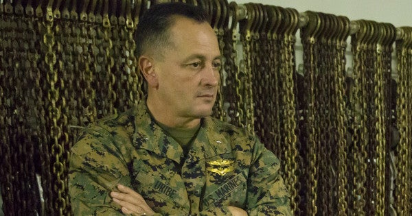 Brig. Gen. Rick Uribe