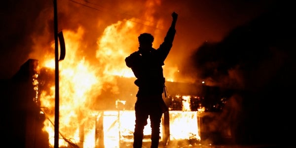 US military readies active-duty troops in case Minnesota governor asks for help to quell riots