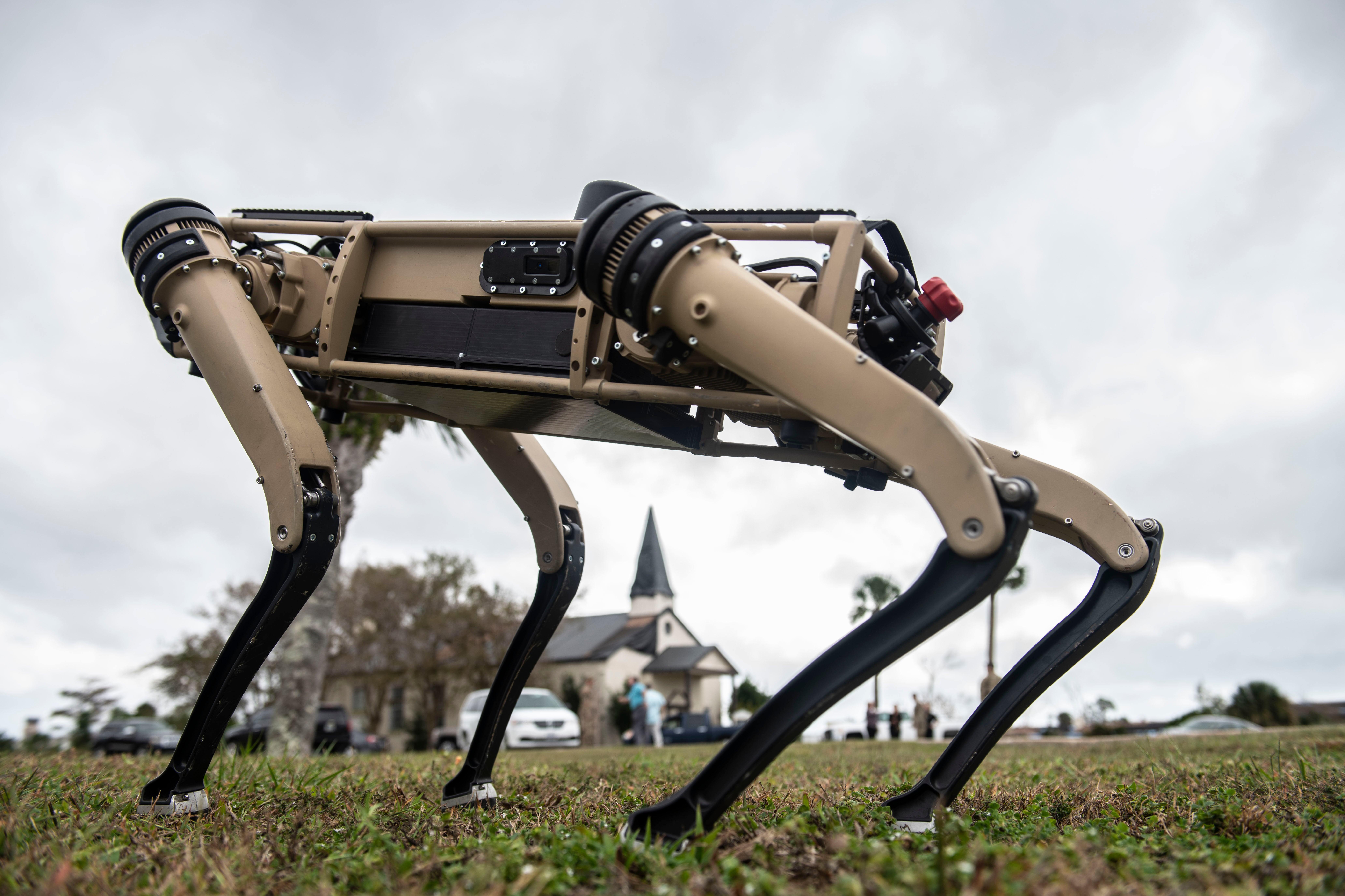 Robot dogs are coming to an Air Force base near you