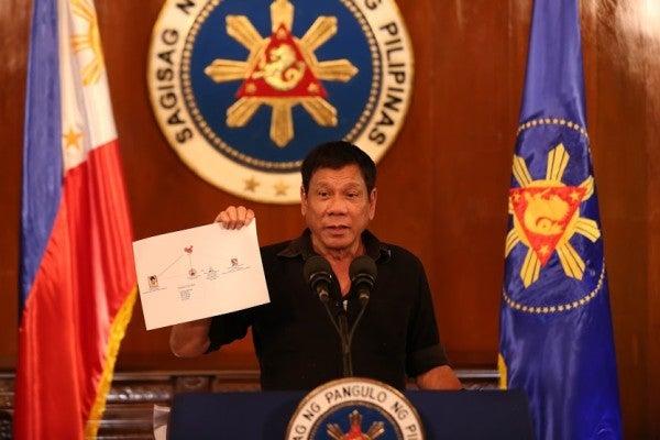 Philippine President Rodrigo Duterte says coronavirus troublemakers will be shot dead by the military