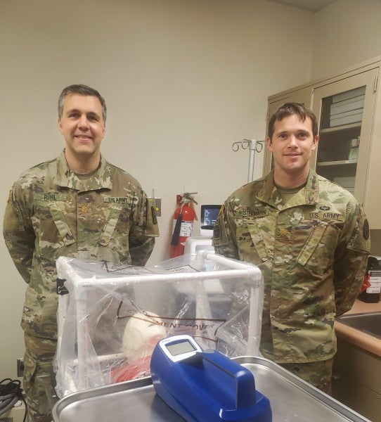 A new device from Army doctors could be a game-changer in the fight against COVID-19